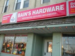 Bain's Hardware